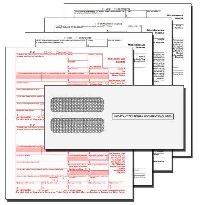 1099 MISC 4 Part Tax Kit