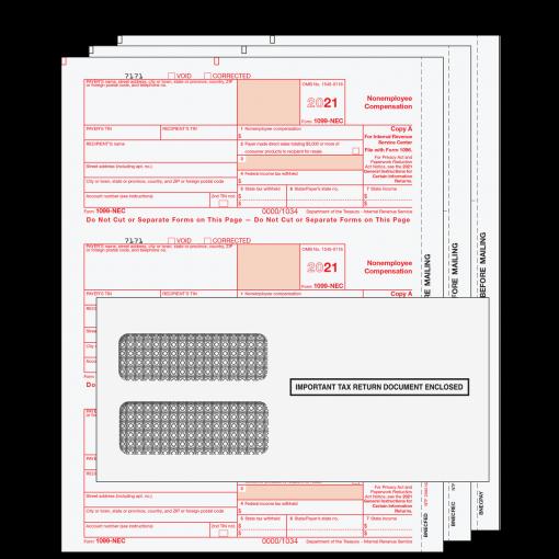 2021 1099-NEC-3 Part Kit