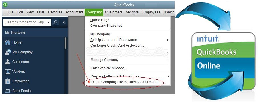 Moving from QuickBooks Desktop to QuickBooks Online