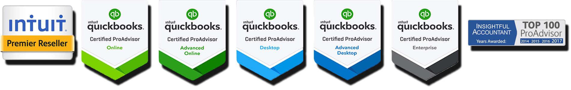QuickBooks ProAdvisor Certifications